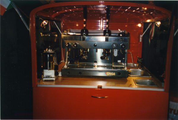Ape50 kaffeemobil version 2000