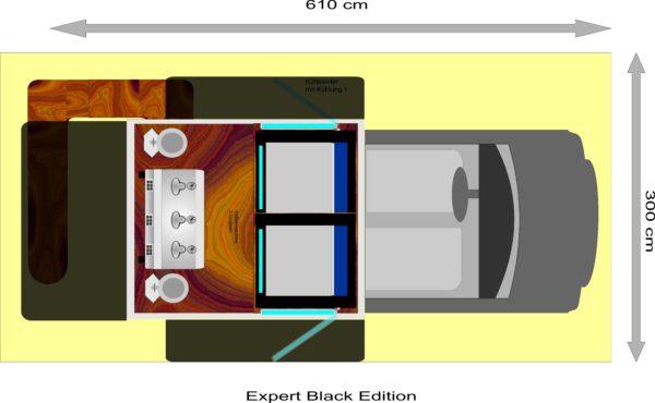 Expert black edition grundriss