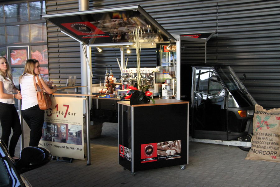 Schira Café Kaffeemobil das Ape Espressomobil