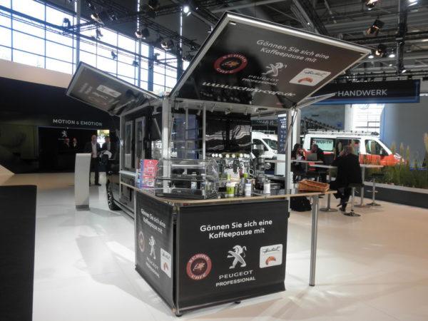 Expert Black Edition Kaffeemobil , das große Espressomobil von Schira Mobil
