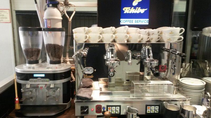 Ape Calssic Kaffeemobil in Sylt für Tchibo bei EDEKA im Einsatz