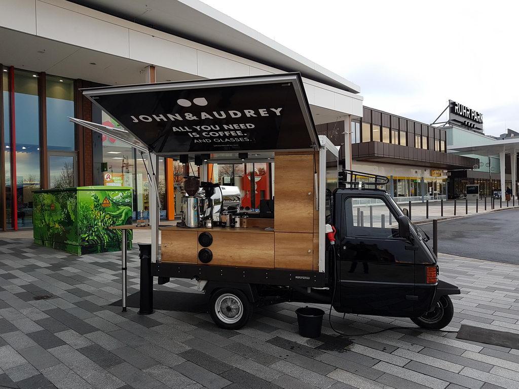 Ape TM Promotion Kaffeemobil das Espressomobil