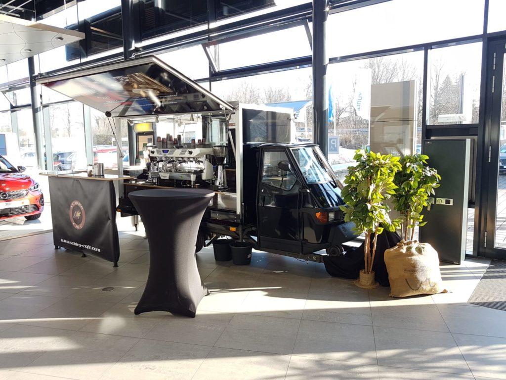 APE Barista Kaffeemobil von Schira Café