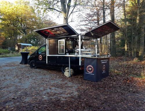 Espressomobil Einsatz für eine Beerdingung im Friedwald Reihardswald