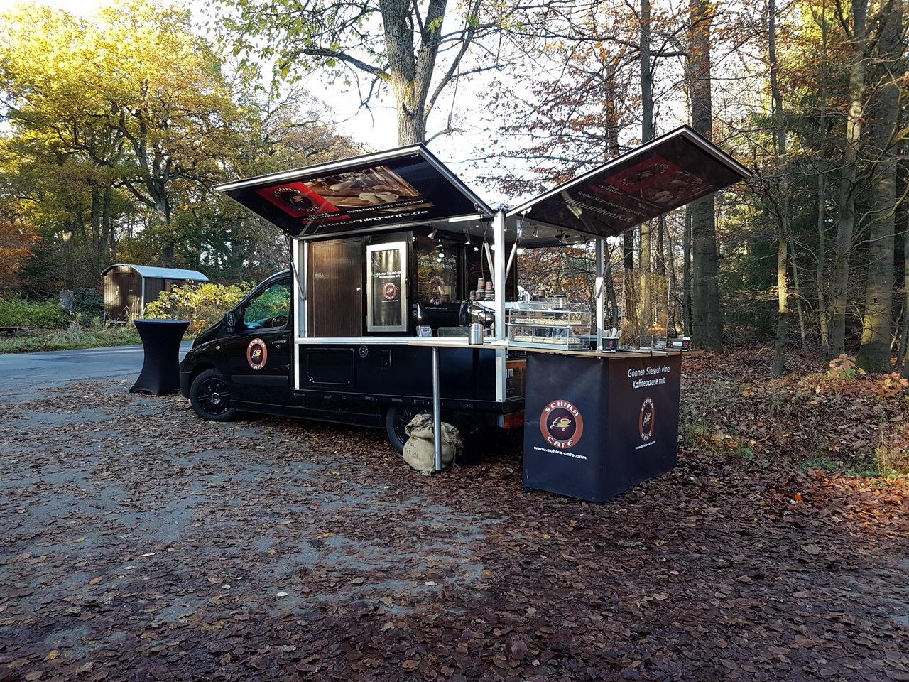 Espressomobil Beerdigung Friedwald Reihardswald