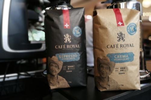 Die neuen Sorten von Café Royal Esoresso Honduras